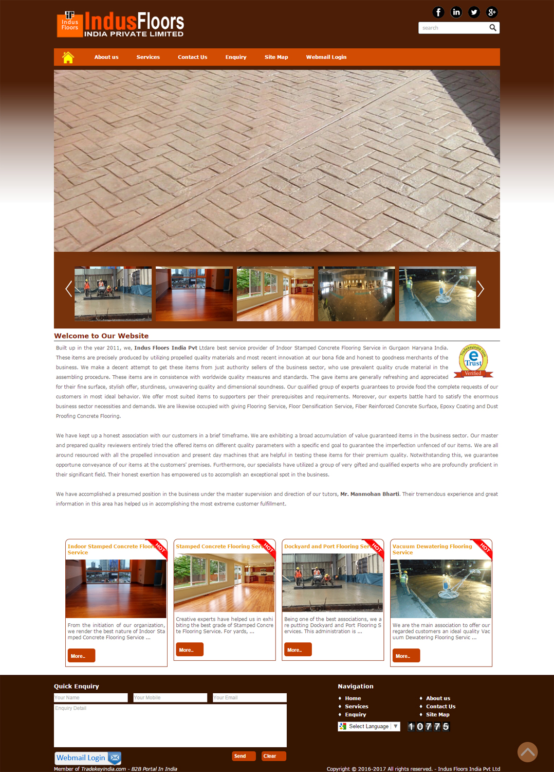 Indus Floors India Pvt Ltd