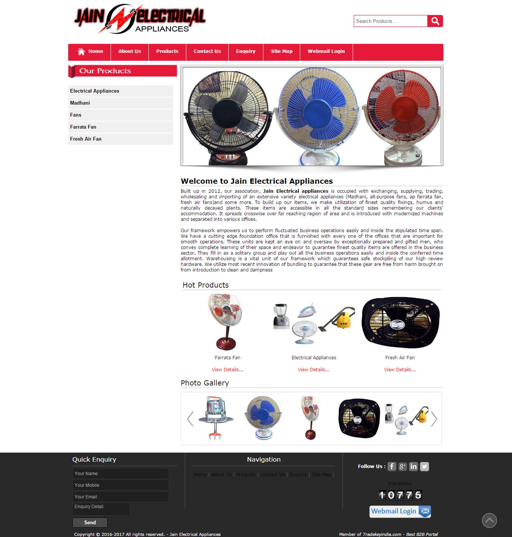 Jain Electrical Appliances