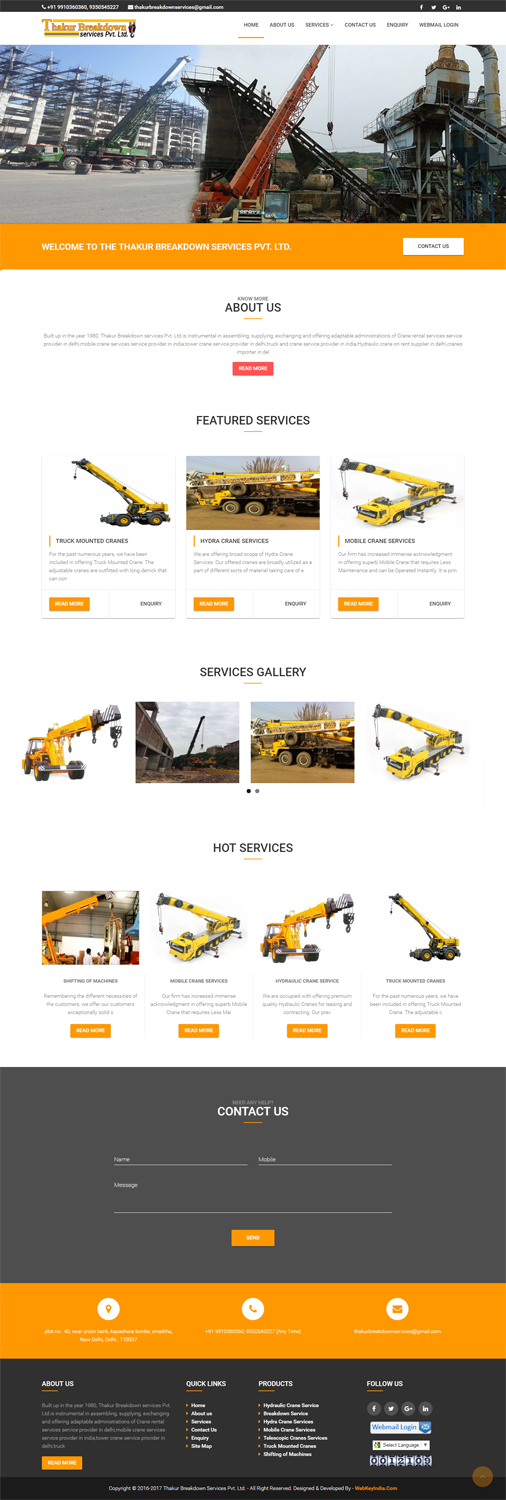 Thakur Breakdown services Pvt. Ltd.