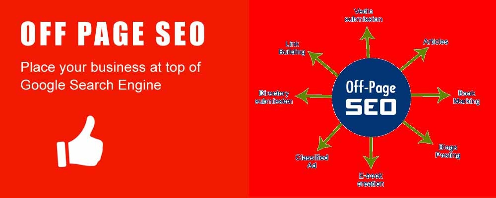 Service Provider of Off-Page SEO Services