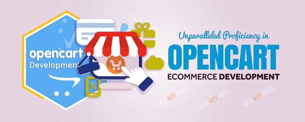 Service Provider of OpenCart Ecommerce Web Development