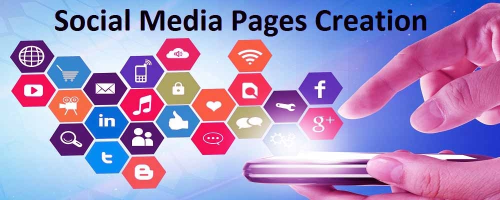 Service Provider of Social Media Pages Creation