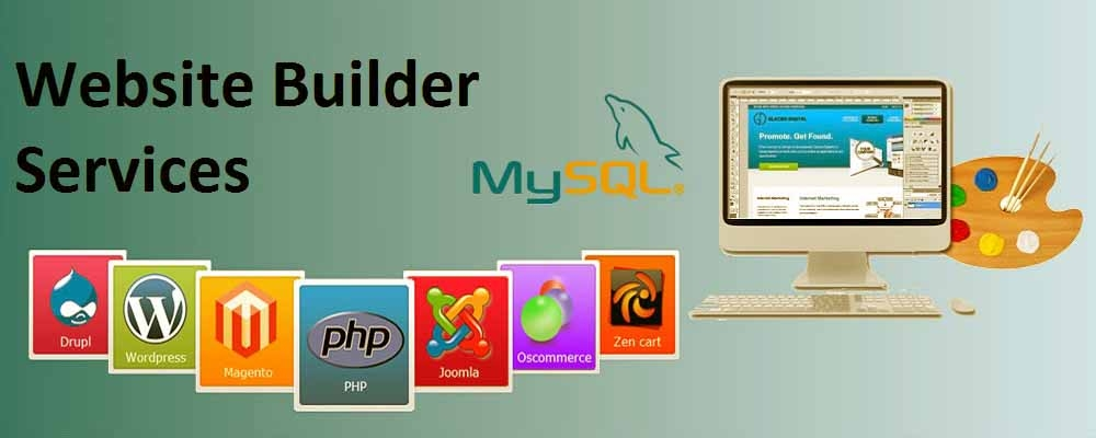 Service Provider of Website Builder Services