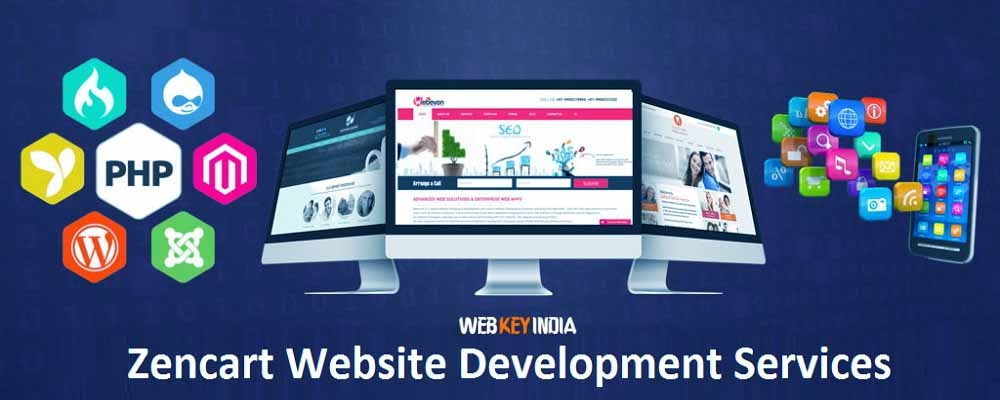 Service Provider of Zencart Website Development Services